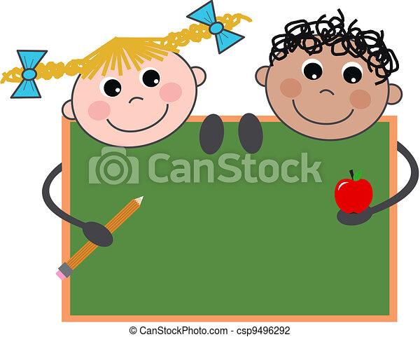 iskolások - csp9496292