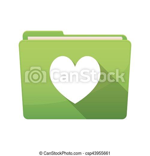játék, szív, kártya, piszkavas, elszigetelt, aláír, irattartó - csp43955661
