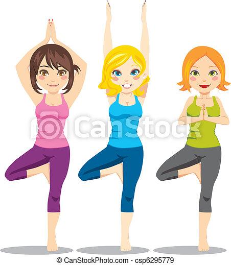 jóga, nők - csp6295779