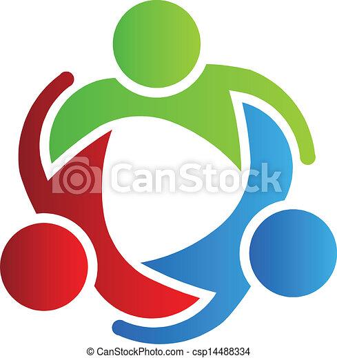 jel, 3, tervezés, ügy üzlettárs - csp14488334