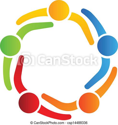 jel, 5, tervezés, ügy üzlettárs - csp14488336