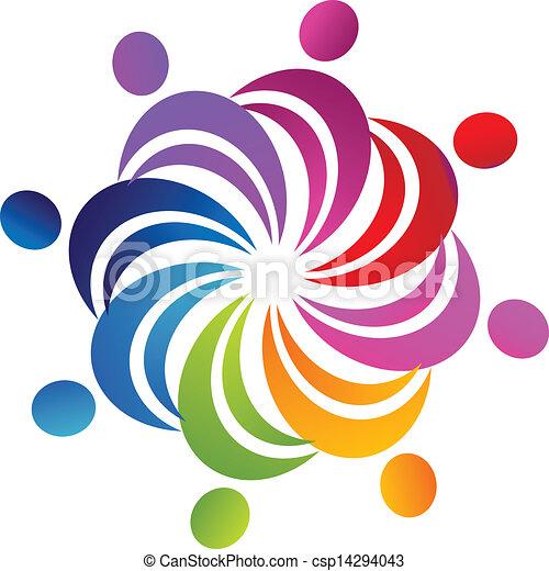 jel, csapatmunka, társadalmi, számolás - csp14294043