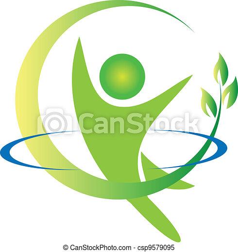 jel, vektor, egészség, természet - csp9579095