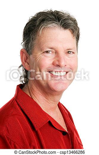 jelentékeny, ember, portré, nagy hím kenguru, csecsemő - csp13466286