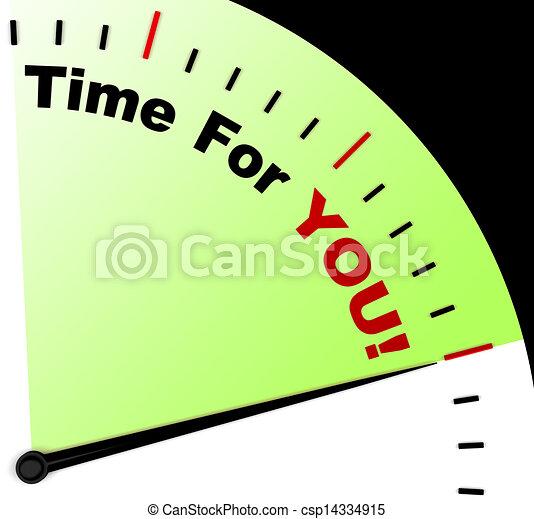 jelentés, üzenet, ön, bágyasztó, idő - csp14334915