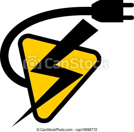 jelkép, elektromos - csp10698772