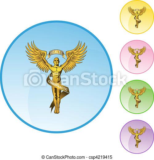 jelkép, gerinc kezelése - csp4219415