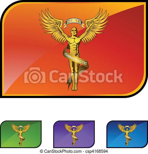 jelkép, gerinc kezelése - csp4168594