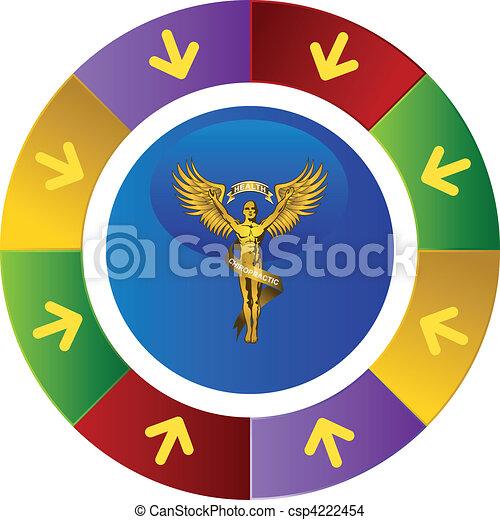 jelkép, gerinc kezelése - csp4222454