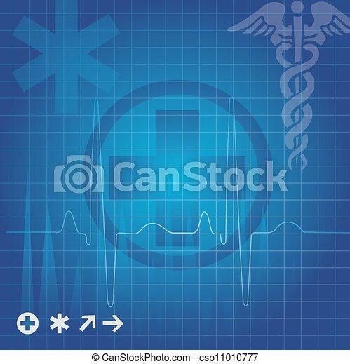 jelkép, orvosi ábra - csp11010777