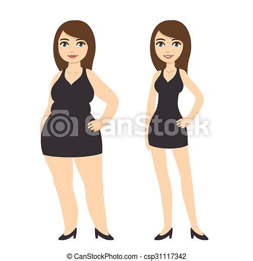 kár, lány, súly - csp31117342