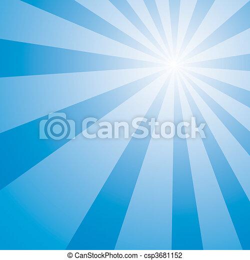 kék ég, kitörés - csp3681152