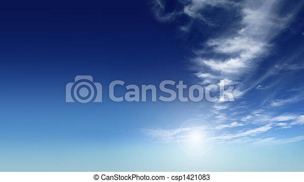 kék ég - csp1421083