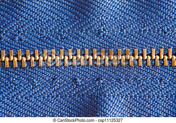 kék, cipzár - csp11125327