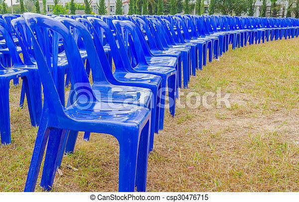 kék, elnökké választ, műanyag - csp30476715