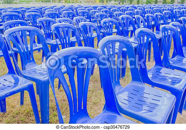 kék, elnökké választ, műanyag - csp30476729