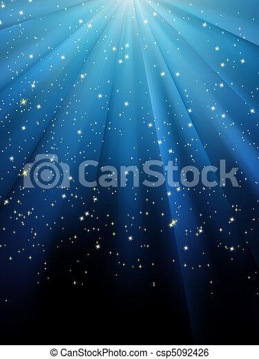 kék, eps, háttér., csillaggal díszít, 8, csíkos - csp5092426