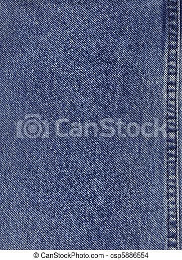 kék, farmeranyag - csp5886554