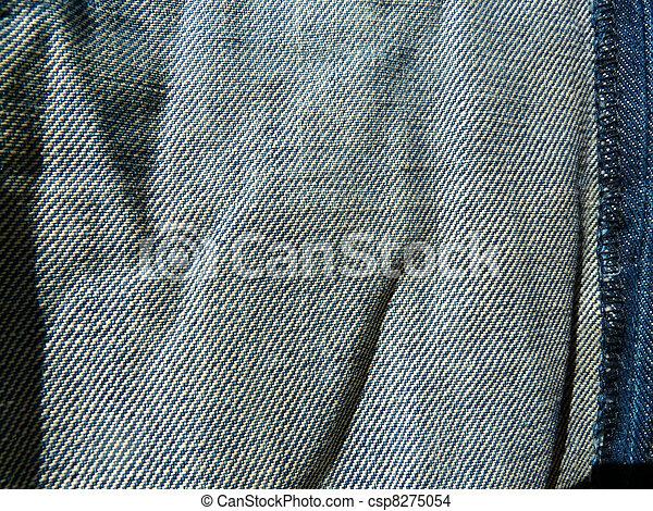 kék, farmeranyag - csp8275054