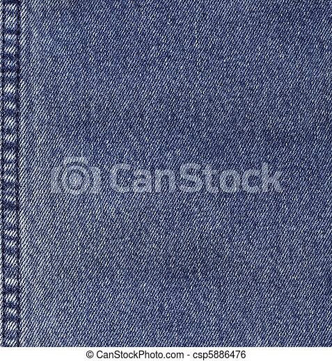 kék, farmeranyag - csp5886476