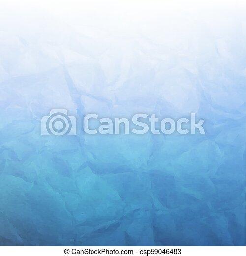 kék, gyűrött újság - csp59046483