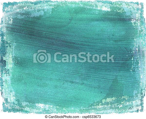 kék, kókuszdió, grunge, fény, kimosott, dolgozat, háttér - csp6533673