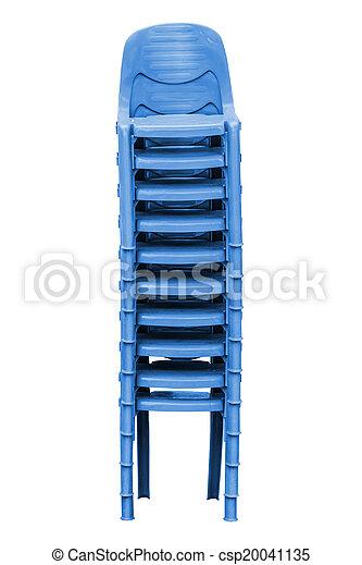 kék, műanyag, elnökké választ - csp20041135
