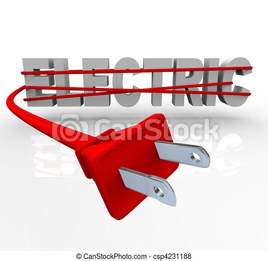 kötél, csomagolt, -, villamos energia - csp4231188