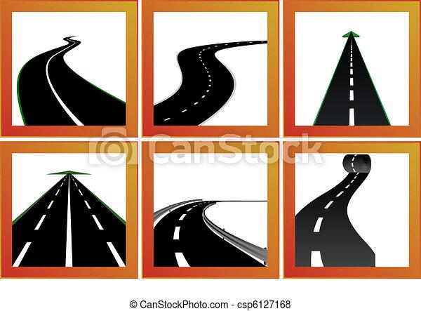 közútak, irányítások - csp6127168