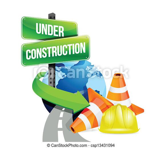 közútak, szerkesztés, globális, alatt - csp13431094