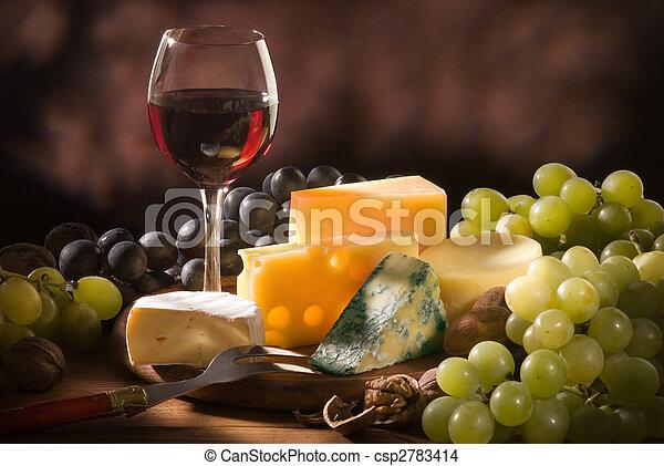 különféle, írógépen ír, sajt, zenemű - csp2783414