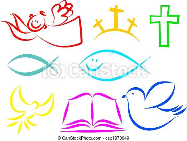 keresztény, ikonok - csp1970049