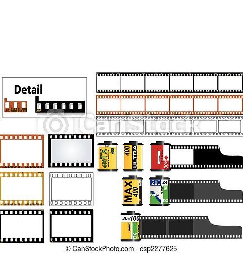 keret, 35mm megcsúszik, film - csp2277625