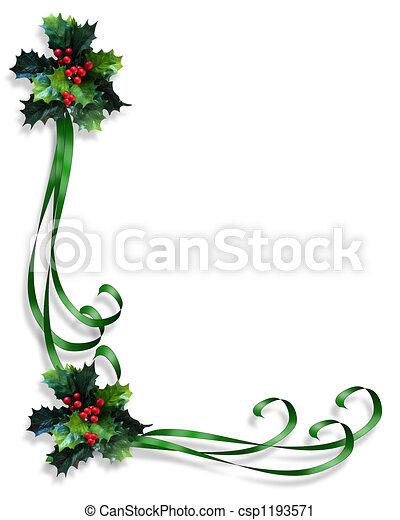 keret, karácsony, határ - csp1193571
