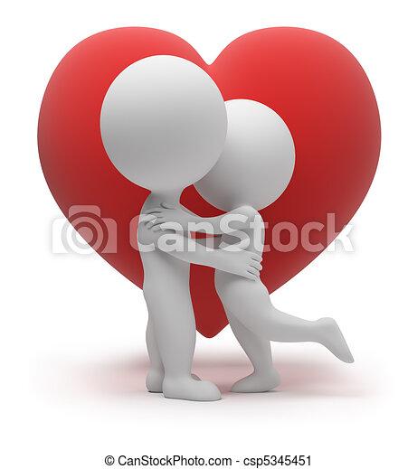 kicsi, -, 3, szeret, emberek - csp5345451