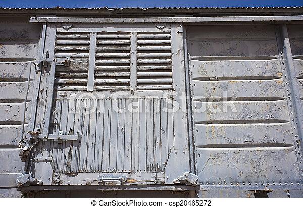 kiképez, ajtó, csúszó - csp20465272
