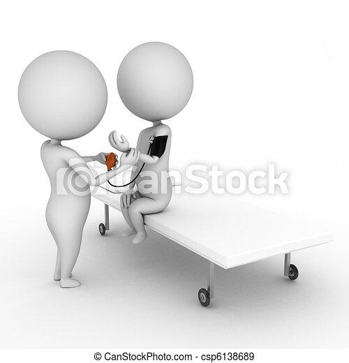 kivizsgálás, orvosi - csp6138689
