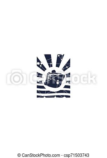 komphajó, ikon - csp71503743
