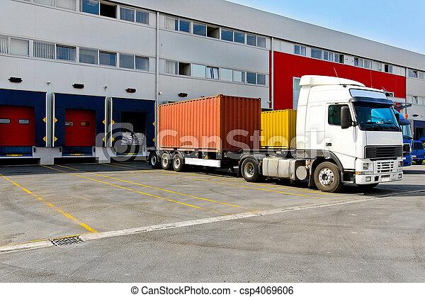 konténer, rakomány - csp4069606