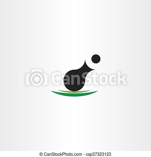löveg, jelkép, vektor, tervezés, ikon - csp37323123