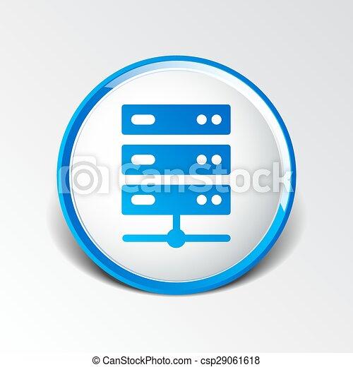 lakás, computer rendszer, ábra, ministráns, vektor, ikon - csp29061618
