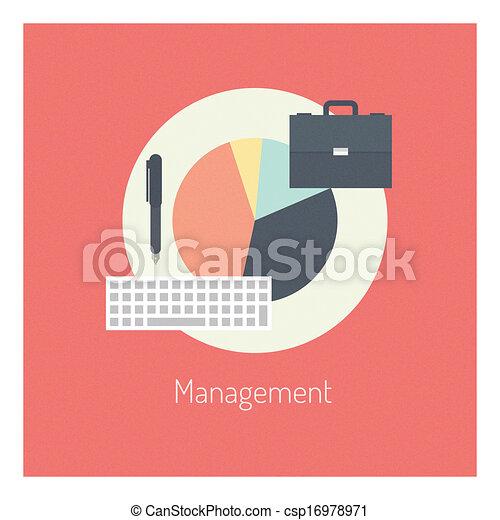 lakás, fogalom, vezetőség, ábra - csp16978971