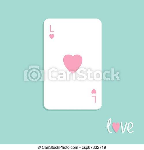 lakás, háttér, kártya, tervezés, piszkavas, aláír, szeret, nagy, szív, játék - csp87832719