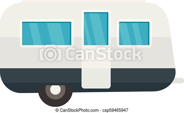 lakás, mód, utazás, retro, ikon, kúszónövény - csp59465947