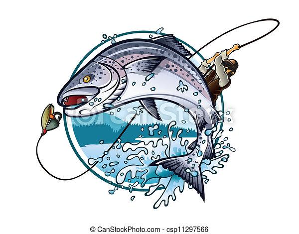 lazac, halászat - csp11297566