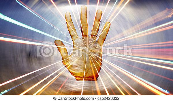 lelki, gyógyulás, kéz - csp2420332