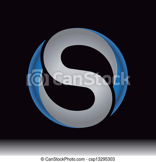 lenni, használt, embléma, dél, levél, ikon, jel, vagy - csp13295303