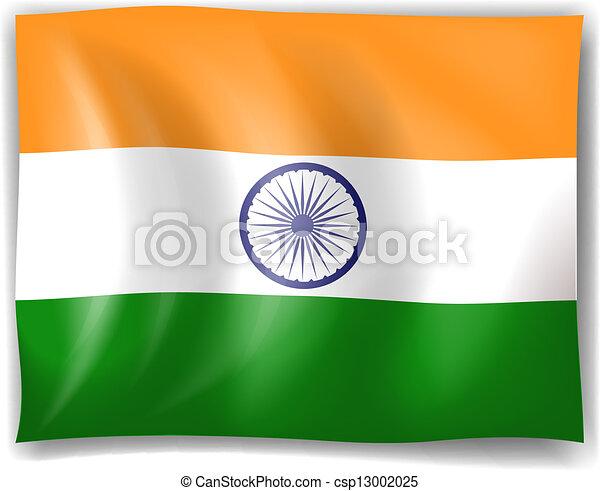 lobogó, india - csp13002025