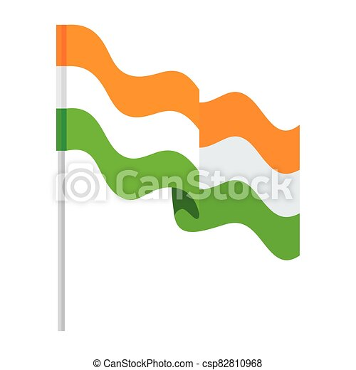 lobogó, nemzeti, háttér, india lobogó, lengyel, fehér - csp82810968