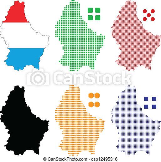 luxemburg - csp12495316